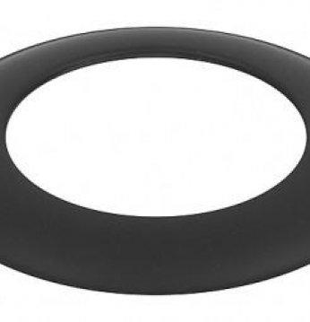 Apdailos žiedas, juodas..