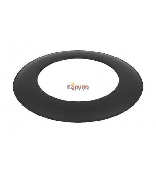 Apdailos žiedas, juodas 120-CZ (ML)