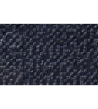 Decorative wall stones GS-DELOS, black