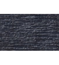 Decorative wall stones GS-DUNE, black