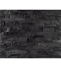 Decorative wall stones GS-SIERRA, black