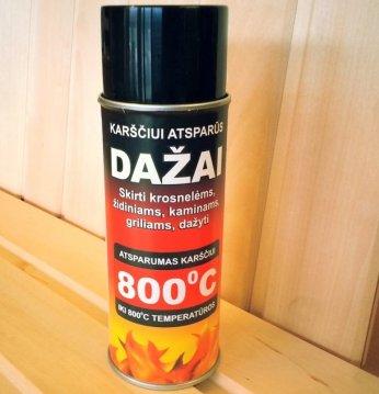 Heat-resistant paint..