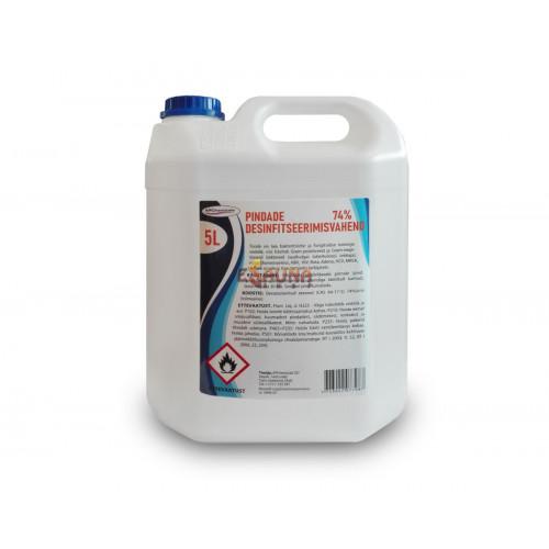 Virsmas dezinfekcijas līdzeklis, 5L