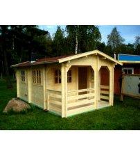 Casa de sauna grande