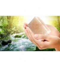 Soap-antiperspirant