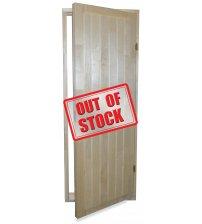 Koka durvis 7x19