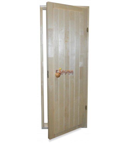 Medinės pirties durys 7x19
