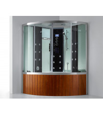 Shower cabin with bathtub and steam function E-CUBE MAX VI LUX