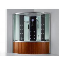 Brusekabine med badekar og dampfunktion E-CUBE MAX VI LUX