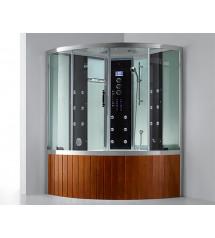 Duschkabine mit Badewanne und Dampffunktion E-CUBE MAX VI LUX