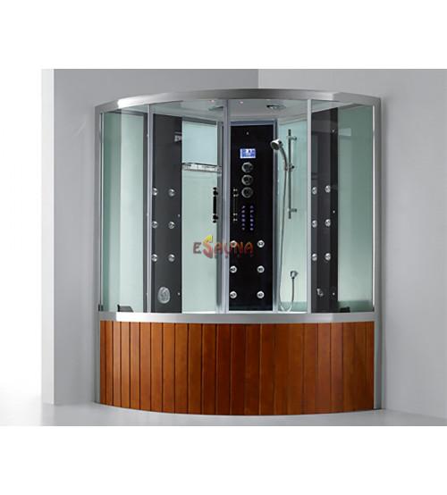 Dušas kabīne ar vannu un tvaika funkciju E-CUBE MAX VI LUX