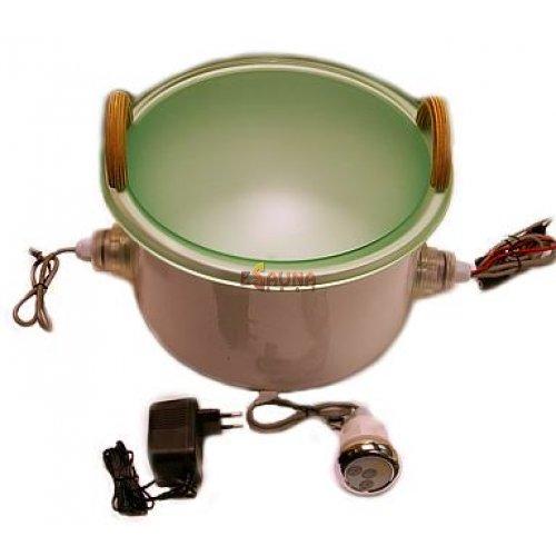 Illuminated bowl in Sauna lighting on Esaunashop.com online sauna store