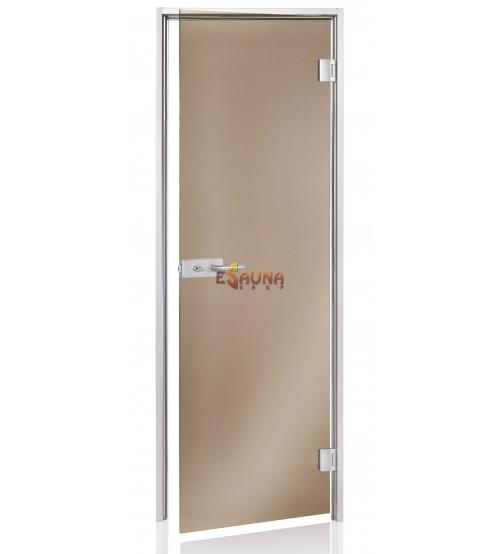 Puertas de vidrio para sauna AD DORADO
