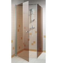Juego de ducha de esquina AD bronce