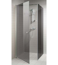 AD сив ъглов комплект за душ