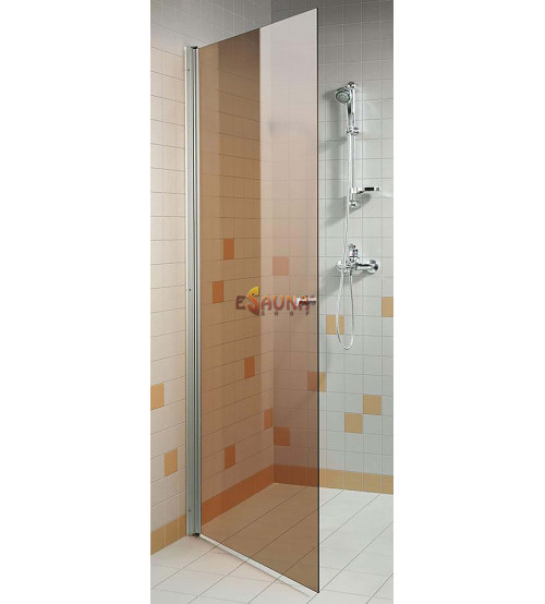 AD -duschdörr i brons