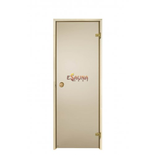 Porta della sauna 7x 19 pini