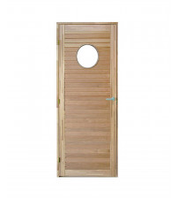 THERMORY SAILOR sauna door with glass