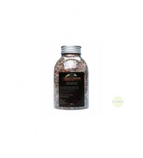Bio-Badesalz mit Lavendelblüten, 500 g
