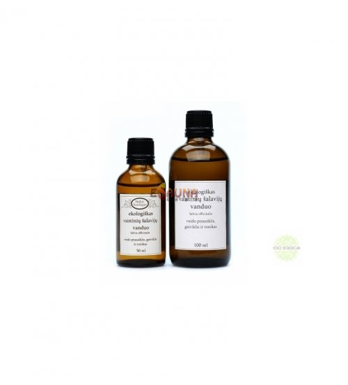 Sage hydrolyte, 100 ml with spray