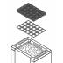 Stones for heater EOS Mythos S35/45. Black