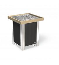 Värmeskydd för EOS Blackrock antracitvärmare med monteringsfästen