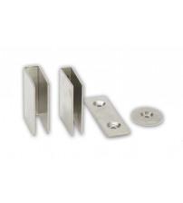 U-vormige metalen sluiting voor magneetsloten