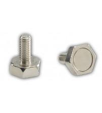Dverový magnet so skrutkou so závitom