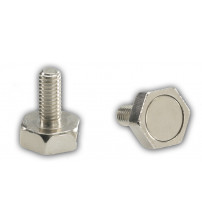 Durų magnetas su srieginiu varžtu