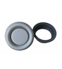 Disk valve for EOS steam generator exhaust fan