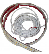 Taśmy LED EOS do łaźni parowych, ciepła biel i kolory RGB