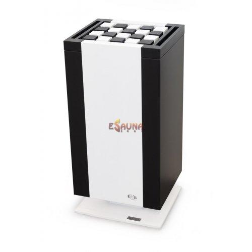 Elektrinė pirties krosnelė - EOS Mythos S35. Baltai juoda