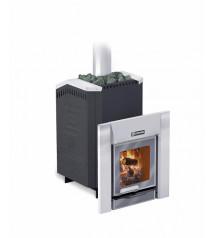 Træbrændende saunaovn - ERMAK 20 Premium støbejern