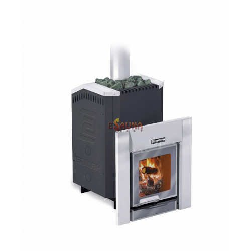 Печка за сауна на дърва - ERMAK 20 Premium Чугун