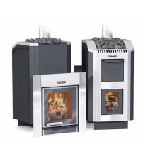 Wood-burning sauna stove - ERMAK 30 Liuks Steel