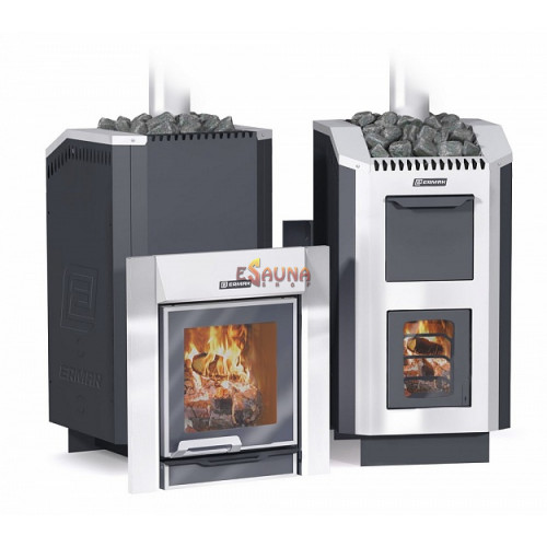 Wood-burning sauna stove - ERMAK 30 Liuks Steel