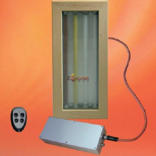 Eos FL 2000 K FB in Sauna lighting on Esaunashop.com online sauna store