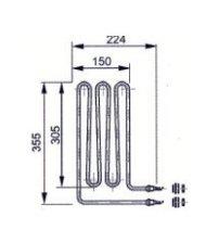 Elementos calefactores EOS