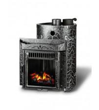 Θερμαντήρας καύσης ξύλου Feringer Maliutka Screen Antik, κλειστό κλουβί