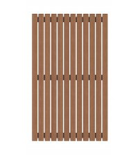 Floor grate, thermo aspen