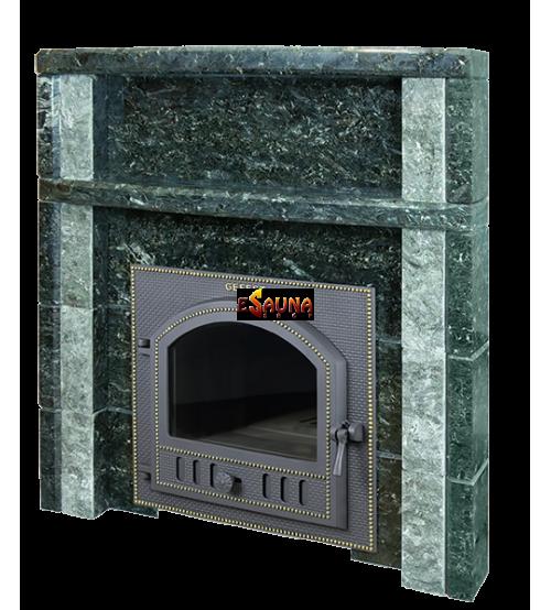 Portal de la estufa Gefest, Serpentine