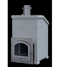 Банная печь на дровах - Мыльный камень Gefest GFS ZK 45 (P) President 1160/60