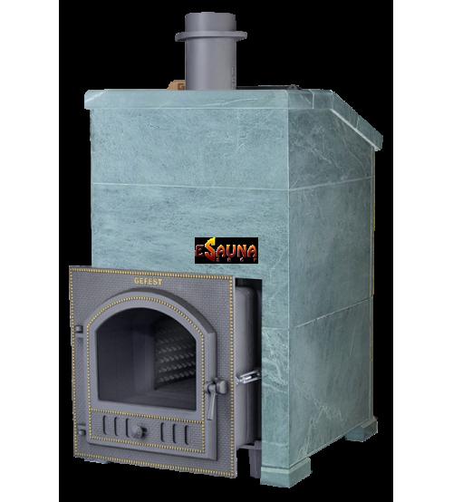 Wood-burning sauna stove - Gefest Grom 30 (P) President 1000/50 Talkochlorite