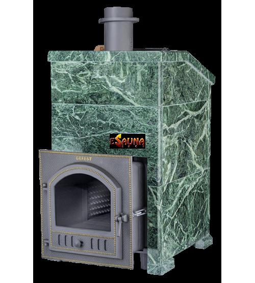 Wood-burning sauna stove - Gefest Grom 50 (P) Prezidentas 1180/50 Serpentine