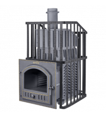 Brændeovn til sauna - Gefest Grom Uragan 50 (P)