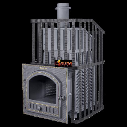 Банная печь на дровах - Gefest Grom Uragan 50 (P)