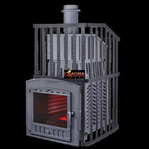 Wood-burning sauna stove - Gefest Grom Uragan 30 (P2)