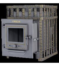 Wood-burning sauna stove - Gefest Groza 18 (M) in grid