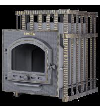 Poêle de sauna à bois - Gefest Groza 24 (P) en grille