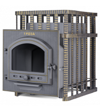 Wood-burning sauna stove - Gefest Groza 24 (P) in grid